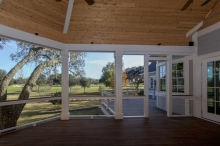 Daniel Island Park Vaulted Porch
