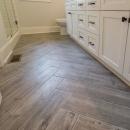 4405 Herrinbone bathroom floor