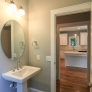 Coastal Cottage Powder room