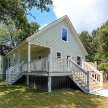 Coastal Cottage Back Porch