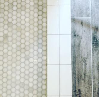 Master Bathroom tile detail