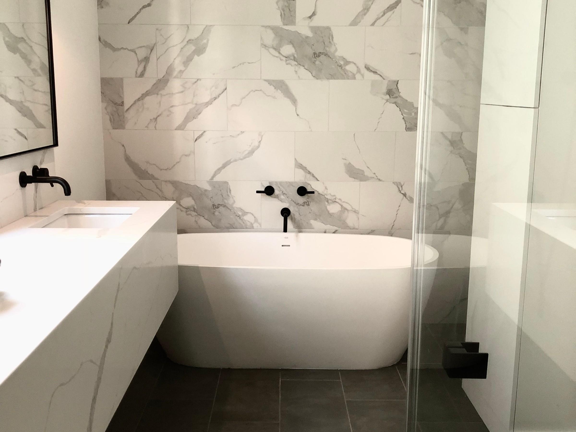 Delpino Custom Homes LLC Traditional Modern CoastalBathroom - Bathroom renovations charleston sc