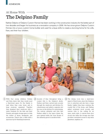 At Home With Delpino Family